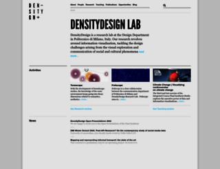 densitydesign.org screenshot