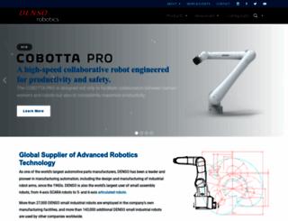 densorobotics.com screenshot