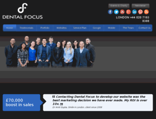 dental-focus.co.uk screenshot