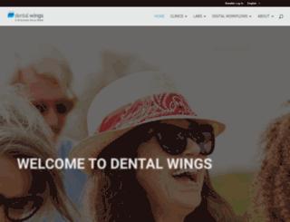 dental-wings.com screenshot