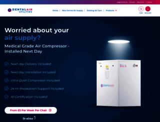 dentalair.com screenshot