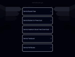 dentalbooks.ga screenshot