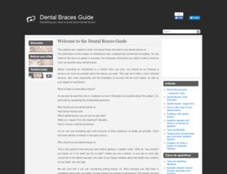 dentalbracesguide.com screenshot