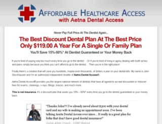dentalcardplus.com screenshot