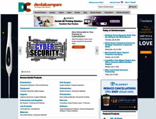 dentalcompare.com screenshot