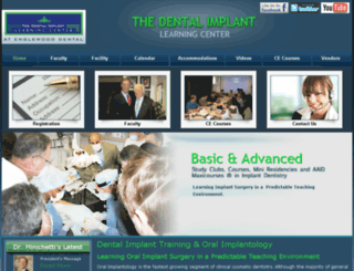 dentalimplantlearingcenter.worldsecuresystems.com screenshot