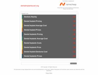 dentalimplantscost.org screenshot