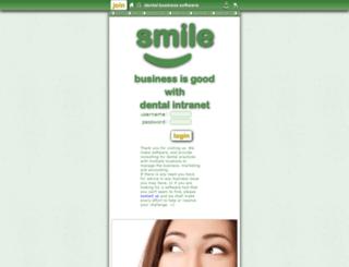 dentalintranet.com screenshot