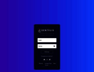 dentalisnet.com.br screenshot