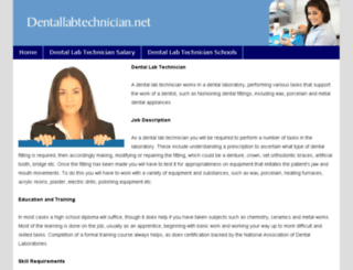 dentallabtechnician.net screenshot
