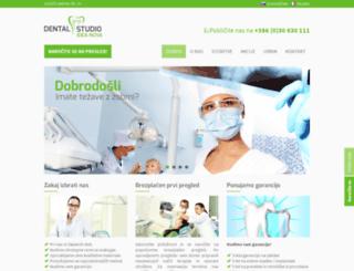 dentalni-studio.com screenshot