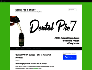 dentalpro7.us screenshot