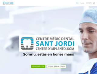 dentalsantjordi.com screenshot
