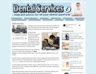 dentalservicesi.com screenshot