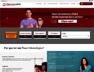 dentaluni.com.br screenshot