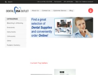 dentalusaoutlet.com screenshot