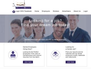 dentalworkers.com screenshot