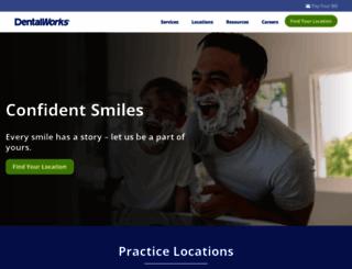 dentalworks.com screenshot