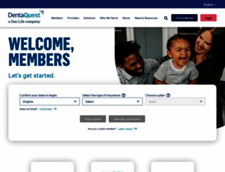 dentaquest.com screenshot