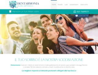 dentarmonia.com screenshot