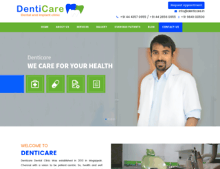 denticare.in screenshot