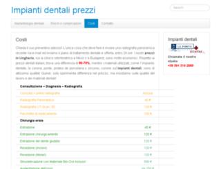 dentista-croazia.info screenshot
