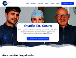 dentisticassino.it screenshot