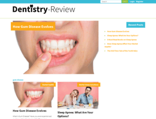 dentistry-review.com screenshot