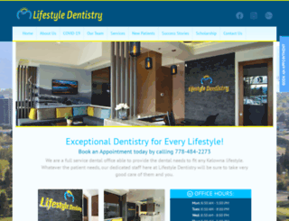 dentistskelowna.com screenshot