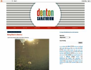 dentonsanatorium.com screenshot