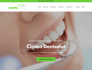 dentsalut.com screenshot
