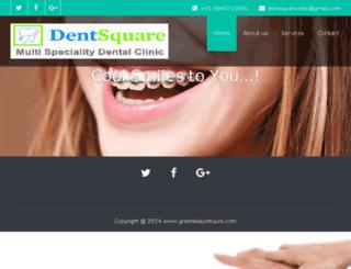 dentsquare.in screenshot