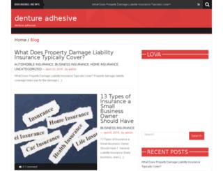 denture-adhesive.com screenshot