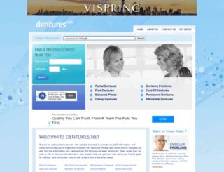 dentures.net screenshot