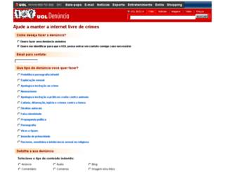 denuncia.uol.com.br screenshot
