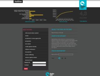 denunciar.org.br screenshot