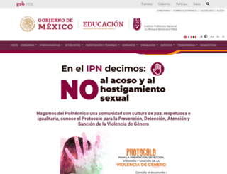 denunciasegura.ipn.mx screenshot