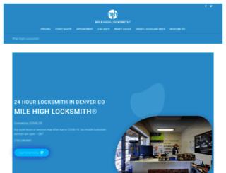 denver-locksmith.net screenshot