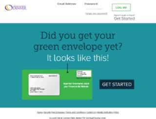 denver.higheroneaccount.com screenshot
