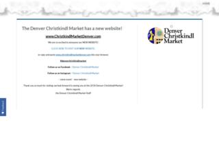 denverchristkindlmarket.com screenshot