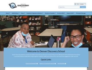 denverdiscoveryschool.dpsk12.org screenshot