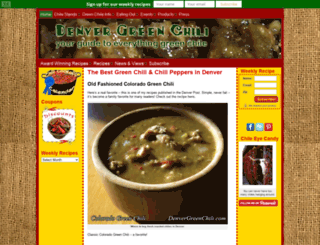 denvergreenchili.com screenshot