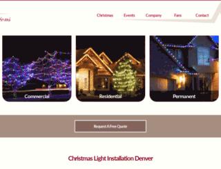 denverilluminations.com screenshot