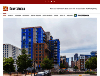 denverinfill.com screenshot