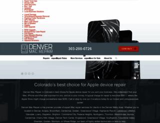 denvermacrepair.com screenshot