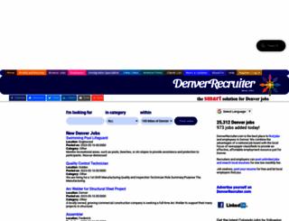 denverrecruiter.com screenshot