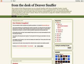 denversnuffer.blogspot.com screenshot