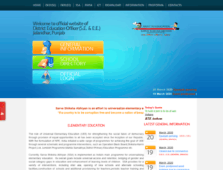 deojalandhar.org screenshot