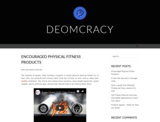 deomcracynow.org screenshot