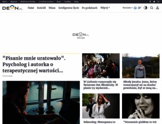 deon.pl screenshot